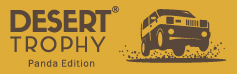 Desert Trophy Panda Edition Logo